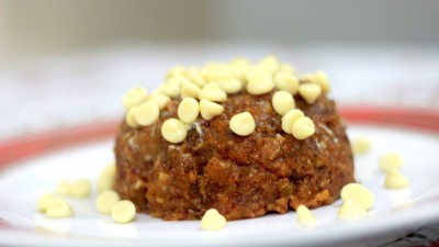 Eggless Christmas Pudding Recipe, No baking required