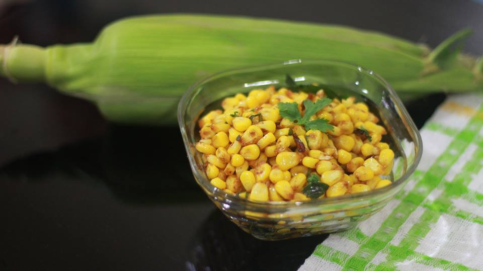 masala corn recipe image