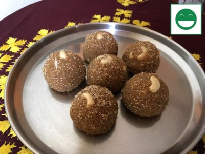 Churma Ladoo Recipe, How to make Aata ladoo