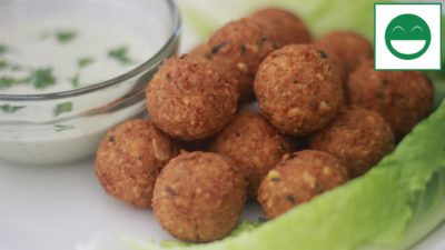 Falafel Recipe, How to make Falafel with Chickpeas