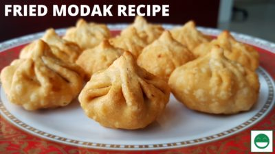 How to make Fried Modak, Easy Modak Recipe