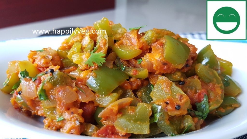 besan shimla mirch recipe