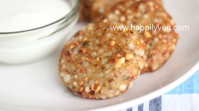 Sabudana Vada Recipe | How to make Sabudana Vada?