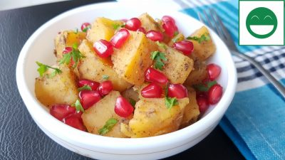 Sweet Potato Chaat Recipe for Vrat | Shakarkandi ki Chaat