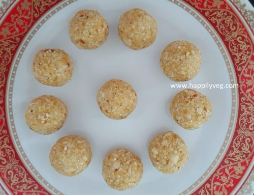Peanut Ladoo Recipe – Easy and Healthy Peanut Laddu