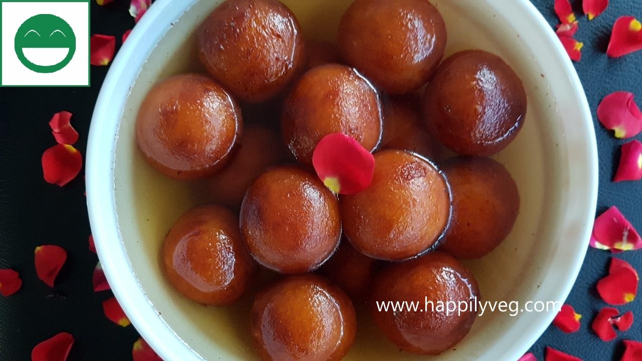 Sweet Potato Gulab Jamun Recipe | Shakarkandi ke Gulab Jamun